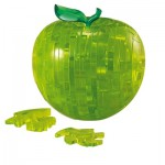 HCM-Kinzel-103025 Jigsaw Puzzle - 44 Pieces - 3D - Beautiful Green Apple
