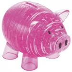 HCM-Kinzel-109003 Jigsaw Puzzle - 94 Pieces - 3D - Pink Piggy Bank