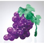HCM-Kinzel-59118 Jigsaw Puzzle - 3D - 46 Pieces - Wine Grape : Purple