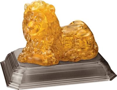 HCM-Kinzel-59123 Jigsaw Puzzle - 3D - 97 Pieces : Lion