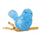HCM-Kinzel-59126 3D Plexiglas puzzle- The Blue Bird