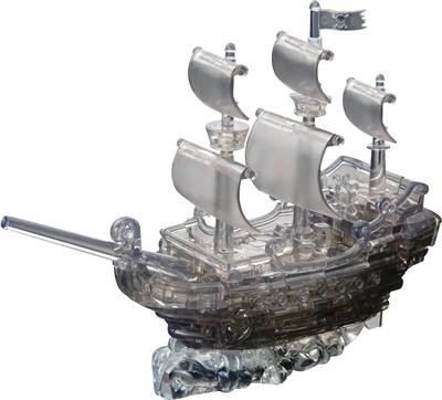 HCM-Kinzel-59129 3D Plexiglas puzzle - Pirate Boat
