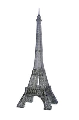 HCM-Kinzel-59131 3D Plexiglas puzzle- Paris: Eiffel Tower