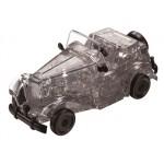 HCM-Kinzel-59134 3D Plexiglas Puzzle- Black Oldtimer