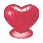 HCM-Kinzel-59161 3D Crystal Puzzle - Red Heart