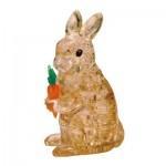 HCM-Kinzel-59178 3D Crystal Puzzle - Rabbit