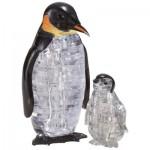HCM-Kinzel-59187 3D Crystal Puzzle - Penguins