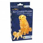 HCM-Kinzel-59189 Crystal Puzzle - Golden Retriever