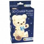 Crystal Puzzle - Henry Light Brown Bear