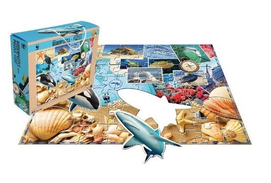 Floor Puzzle Under The Sea Hcm Kinzel 29123 48 Pieces