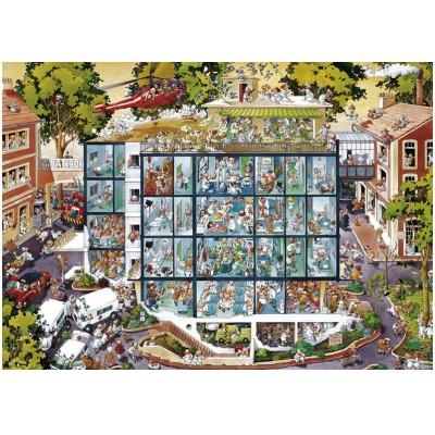 Heye-25784 Jigsaw Puzzle - 2000 Pieces - Wolf : Emergency