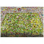 Heye-29072 Jigsaw Puzzle - 4000 Pieces - Mordillo : Crazy World Cup