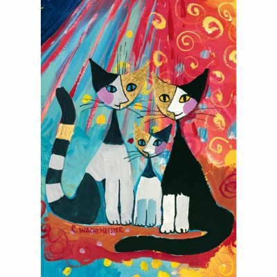 Heye-29081 Jigsaw Puzzle - 1000 Pieces - Rosina Wachtmeister : We want to be together...