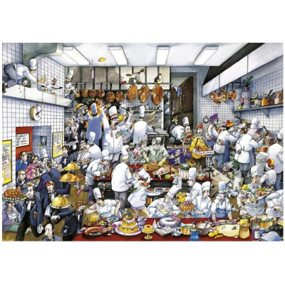 Heye-29130 Jigsaw Puzzle - 1500 Pieces - Blachon : Enjoy your Meal !