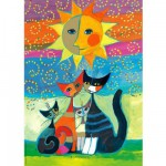 Heye-29158 Jigsaw Puzzle - 1000 Pieces - Rosina Wachtmeister : The Sun