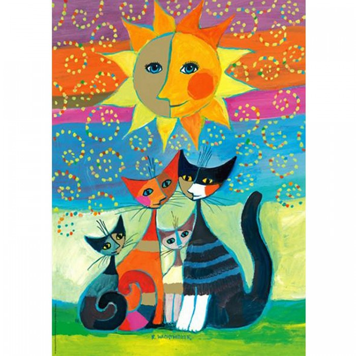 Jigsaw Puzzle - 1000 Pieces - Rosina Wachtmeister : The Sun
