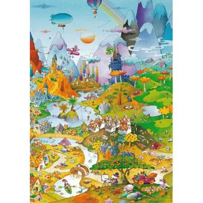 Heye-29230 Jigsaw Puzzle - 1000 Pieces - Mordillo : Love Affair