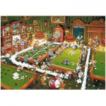 Heye-29232 Jigsaw Puzzle - 1000 Pieces - Ryba : Snooker