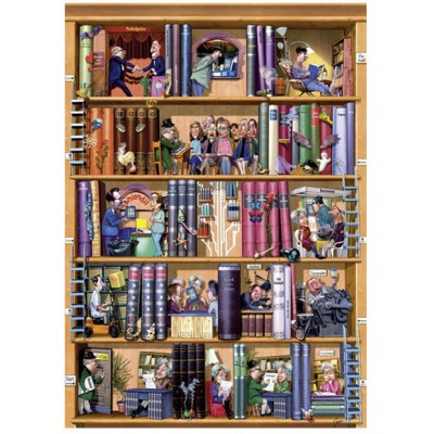 jigsaw puzzle 1500 pieces igor books heye 29234 1500. Black Bedroom Furniture Sets. Home Design Ideas
