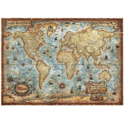 Heye-29275 Jigsaw Puzzle - 3000 Pieces - World Map