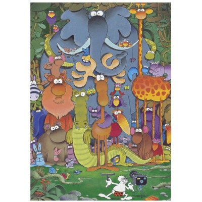 Heye-29284 Jigsaw Puzzle - 1000 Pieces - Mordillo : Cheers !