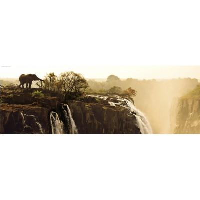 Heye-29287 Jigsaw Puzzle - 1000 Pieces - Panoramic - Alexander von Humboldt : Elephant