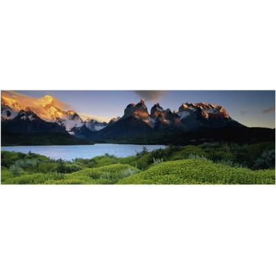 Heye-29288 Jigsaw Puzzle - 1000 Pieces - Panoramic - Alexander von Humboldt : The Plains
