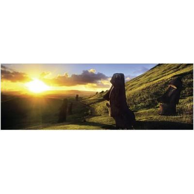 Heye-29289 Jigsaw Puzzle - 1000 Pieces - Panoramic - Alexander von Humboldt : Easter Island