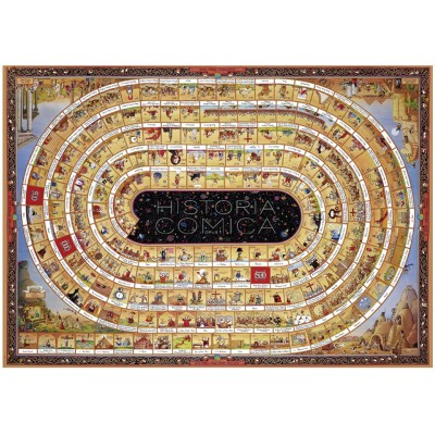 Heye-29341 Jigsaw Puzzle - 4000 Pieces - Degano : The Spiral of History - Opus 1
