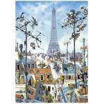 Heye-29358 Jigsaw Puzzle - 1000 Pieces - Loup : The Eiffel Tower