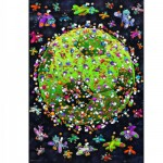 Heye-29359 Jigsaw Puzzle - 1000 Pieces - Mordillo : Football