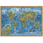 Heye-29386 Jigsaw Puzzle - 3000 Pieces - Fantastic World