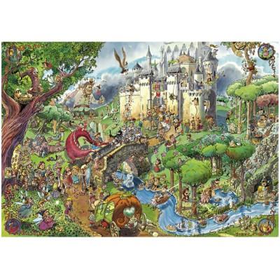 Heye-29414 Jigsaw Puzzle - 1500 Pieces - Prades : Fairytales