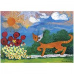 Heye-29448 Jigsaw Puzzle - 1000 Pieces - Rosina Wachtmeister : Daisies