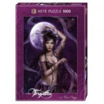 Heye-29460 Jigsaw Puzzle - 1000 Pieces - Cris Ortega : Moonlight