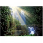 Heye-29498 Jigsaw Puzzle - 1000 Pieces - Magic Forest : Waterfall