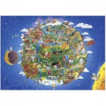 Puzzle  Heye-29521 Anders Lyon: The Earth