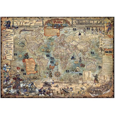 Puzzle Heye-29526 Rajko Zigic: The Pirate Worldwide