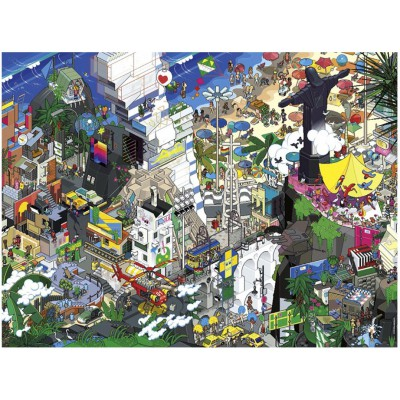 Puzzle Heye-29575 EBoy : Rio