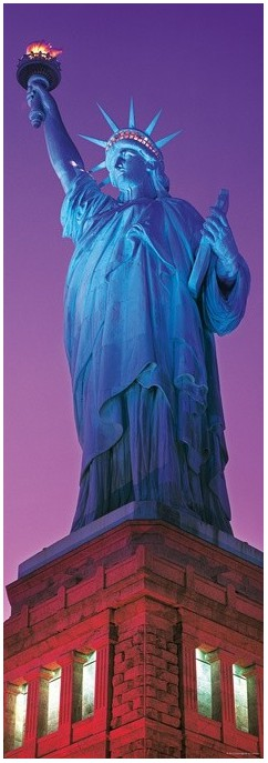Puzzle Heye-29605 USA, New York: Statue of Liberty