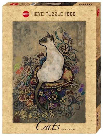 Puzzle Heye-29610 Jane Crowther: Siamese