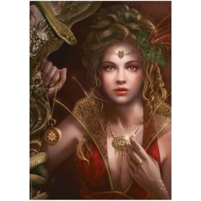 Puzzle Heye-29614 Cris Ortega: Gold jewelry