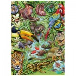 Puzzle  Heye-29617 Marion Wieczorek: Tropical forest