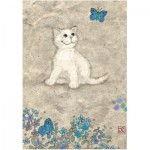 Puzzle  Heye-29626 Jane Crowther : White Kitty
