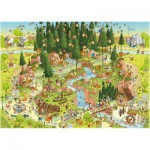 Puzzle  Heye-29638 Marino Degano: Habitat from the black forest