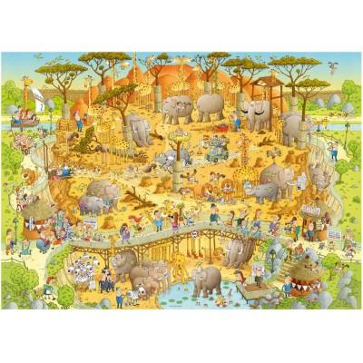 Puzzle Heye-29639 Marino Degano: African Habitat