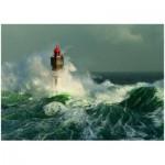 Puzzle  Heye-29670 Jean Guichard : Lighthouse La Jument