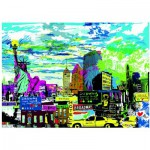 Puzzle  Heye-29681 Kitty McCall : I Love New York!