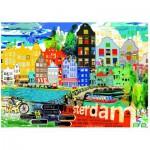 Puzzle  Heye-29683 Kitty McCall : I Love Amsterdam!