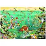 Puzzle  Heye-29694 Giuseppe Calligaro : Under Water